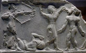 Iraq - Victory stele of Naram-Sin of Akkad.