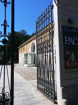 Padiglione d'Arte Contemporanea - The entrance in via Palestro