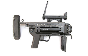 M320 Grenade Launcher Module - Standalone M320 with detachable buttstock