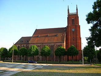Dobiegniew - Church