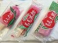 Package, Momotaro (ice pops), Niigata, Japan, 20170726.jpg