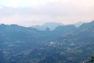 Pahuatlán - View of the Pahuatlán Valley