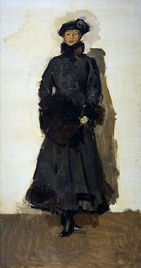 Painting of Mata Hari by Isaac Israels.jpg