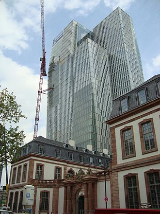 Palais Thurn und Taxis - The newly constructed Palais Thurn und Taxis in 2009