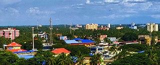 Palakkad City in Kerala, India