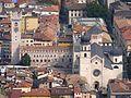 Palazzo Pretorio con la Torre Civica ed il Duomo, ripresi da Sardagna.jpg