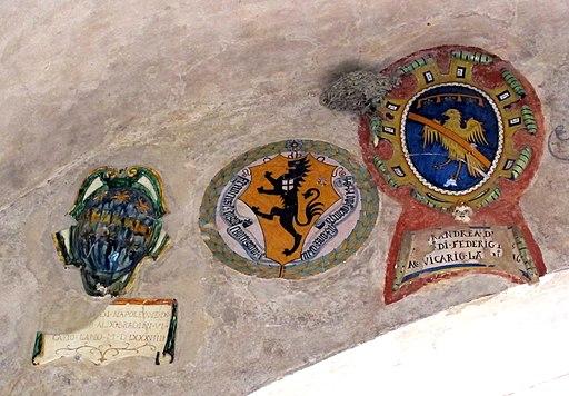 Palazzo vicariale di Certaldo, stemma