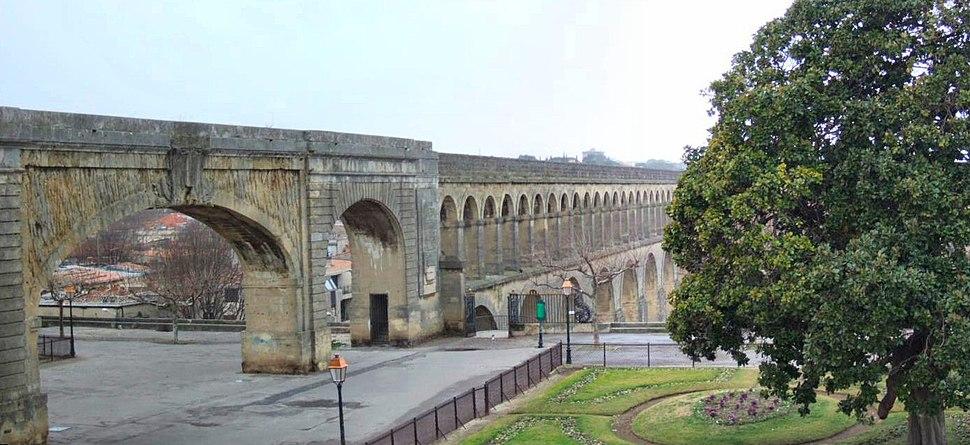PanoMontpellierAquaduct