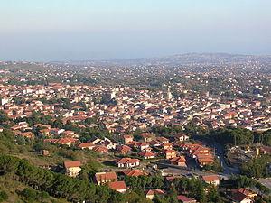 Nicolosi - Image: Panorama Nicolosi