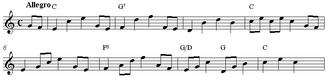 Parlour music - Papageno's glockenspiel tune