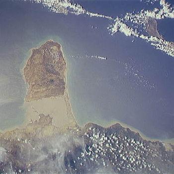 Paraguana Peninsula STS064-209-64