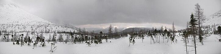Parc national de la Gaspésie en hiver