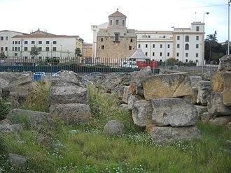 Castello a Mare - Image: Parco archeologico del Castellammare 06 nov 2016 (1)