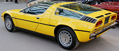 Paris - Bonhams 2014 - Maserati Bora 4.7 litre Coupé - 1972 - 002 (cropped).jpg