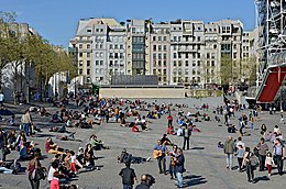 image illustrative de l'article Place Georges-Pompidou