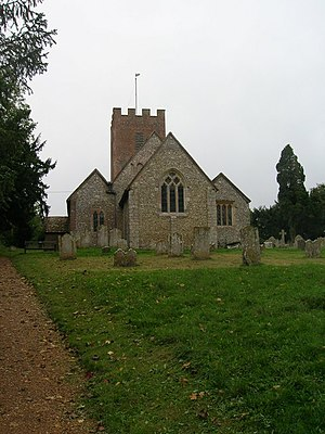 Tichborne - Image: Parish Church of St Andrew Tichborne geograph.org.uk 267711