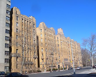 Highbridge, Bronx - Park Plaza Apartments, listed on the National Register of Historic Places