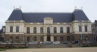 Salomon de Brosse - The Parlement de Bretagne, Rennes (1618)