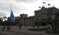 Parque Central, Guatemala City.jpg