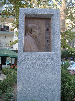 José María Soler García - Monument to José María Soler in Villena
