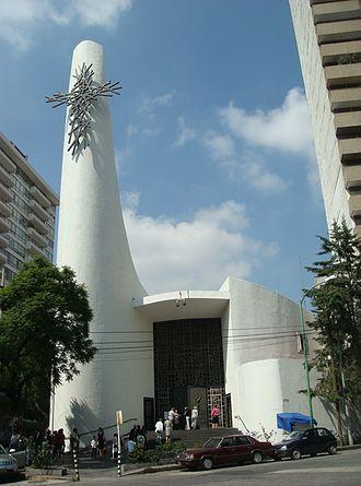 Agustín Landa Verdugo - French Parish in Mexico City, from 1967