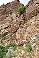 Parthian rock-relief at Qimmat Merquli, Mt. Piramagroon, Sulaymaniyah Governorate. Iraq. 1st century CE.jpg