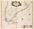 Paskaarte van het zuydelijckste van America, van Rio de la Plata tot Caap de Hoorn, ende inde Zuyd Zee, tot B. de Koquimbo (NYPL b13908778-1619056).jpg