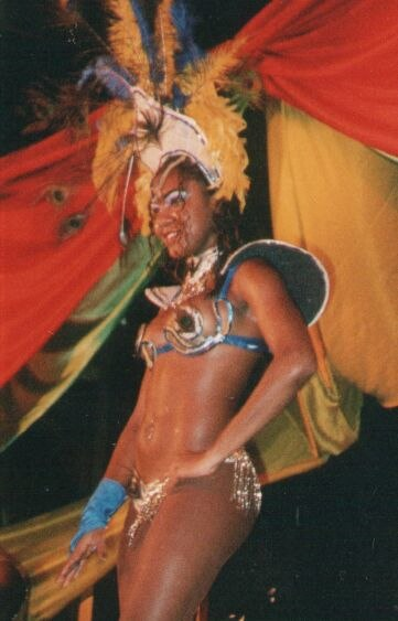 Passista no Carnaval (Brasil)