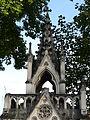 Pau cimetière chapelle funéraire Guillemin-Montebello détail sud.JPG