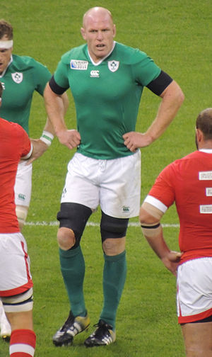 Paul O'Connell - O'Connell playing for Ireland against Canada during the 2015 Rugby World Cup