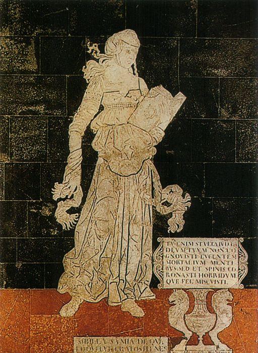 Matteo di Giovanni Bartoli, Sibilla Samia, Floor of the Duomo, Siena