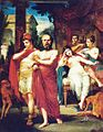 Pedro Américo - Sócrates afastando Alcebíades do vício - 1861.jpg