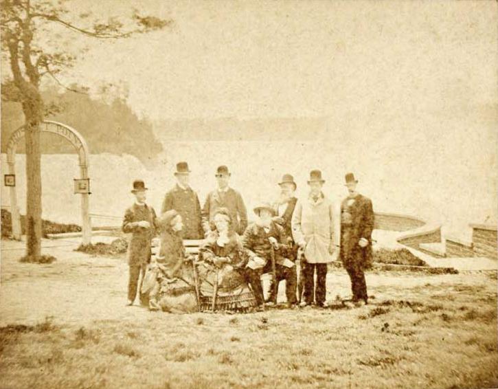 Pedro II of Brazil Niagara Falls 1876