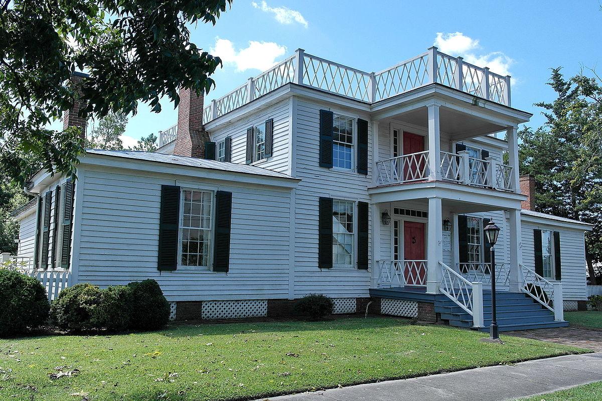 Harmony hall kinston north carolina wikipedia for The carolina house