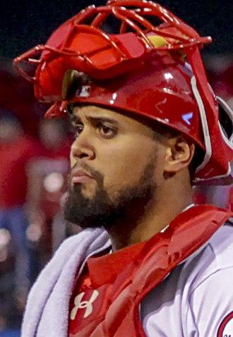Francisco Peña (baseball) - Peña with the Cardinals in 2018