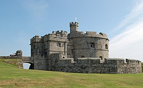 Pendennis Castle keep.jpg