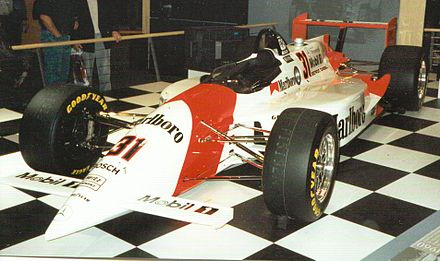 Penske PC-23 Mercedes, 1994 Indianapolis 500 winning car PenskePC23.jpg