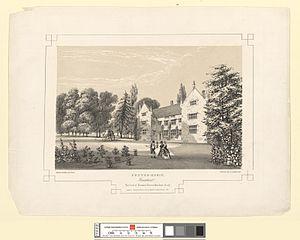 Pentre-Hobin, Flintshire. The Seat of Thomas Trevor Mather, Esqr
