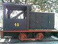 Pequena locomotiva na Estação Rafard do antigo traçado da Ytuana, depois Estrada de Ferro Sorocabana (Itaici-Piracicaba) em Rafard - panoramio - zardeto.jpg