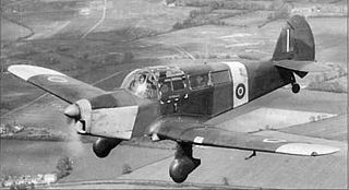 Percival Proctor 1939 trainer/liaison aircraft by Percival Aircraft Limited