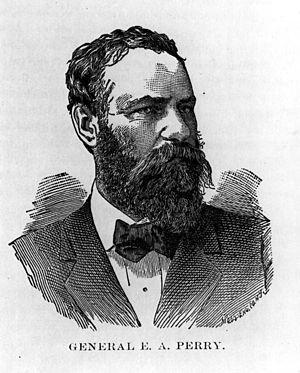 Edward A. Perry - Image: Perry, E. A., General, Confederacy, Florida Brigade Commander, Civil war