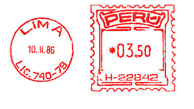 Peru stamp type BE2.jpg