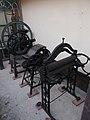 Petőfi Museum, grinders and rolling machine, 2019 Aszód.jpg