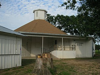 Peters, Texas - Image: Peters TX Dance Hall