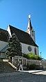 Pfarrkirche Pabneukirchen nach Turmkreuzerneuerung.jpg