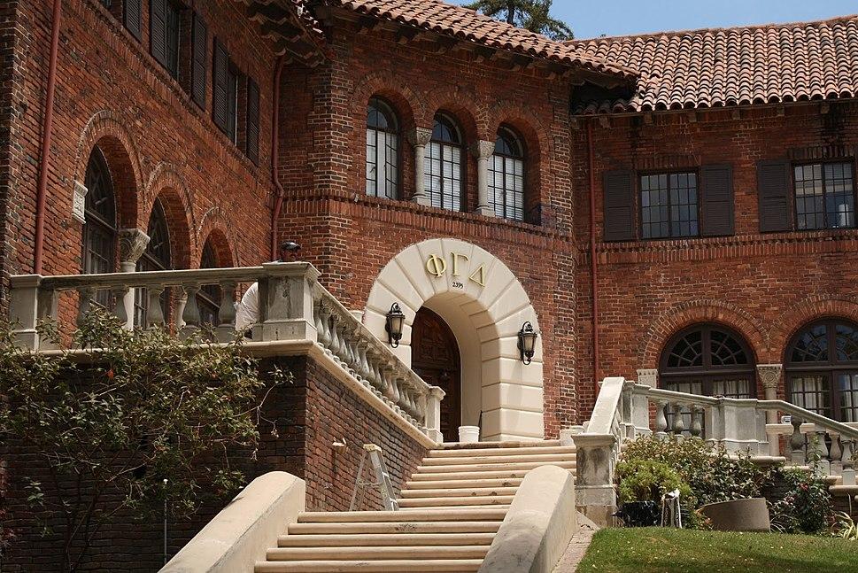 Phi Gamma Delta fraternity house, Berkeley, California