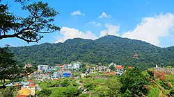 View of Tam Đảo mountain