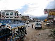 Trung tâm của quận trung tâm hành chính của Phonsavan