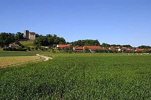 Habsburg, Switzerland - Habsburg village