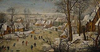 The Bird Trap (Winter Landscape)